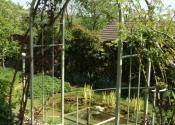 Bespoke rose arch and handrails, Charlcombe Lane, Bath