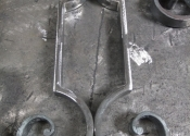 Forged detail for the balustrade