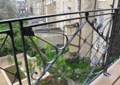 Restoration of a balcony on the Circus in Bath