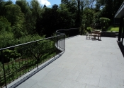 Contemporary balustrade at Rectory Gardens, Bristol