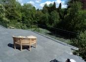 Contemporary balustrade at Rectory Gardens, Bristol