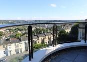 Bespoke balcony balustrade in Lansdown, Bath