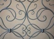 Decorative scrollwork balustrade, Lansdown, Bath