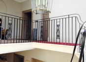 Batheaston Balustrade with decorative cast iron panel detail