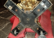 Luke Hannaford of Ironart, repairs to the Bath Abbey lectern