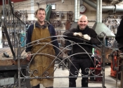 Adrian Booth and Dominic West of Ironart Ltd