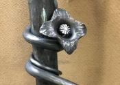 Bespoke Garden Arch Flower Detail