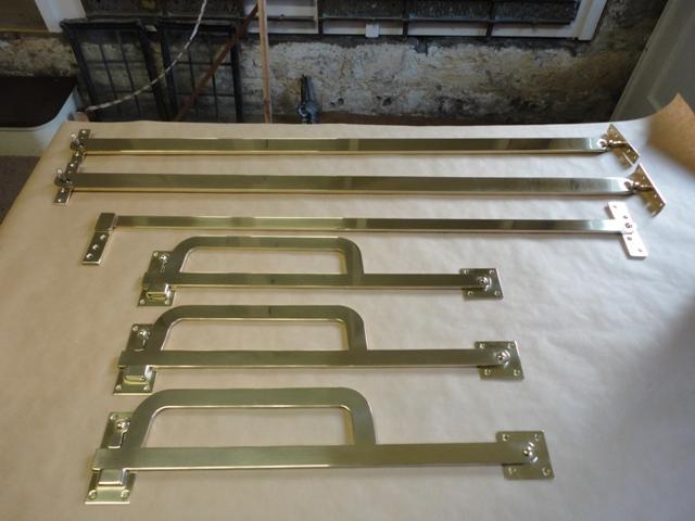 Bespoke Shutter Bars Ironart Of Bath