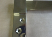 Bespoke brass shutter bars (5)