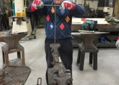 Blacksmithing course at Ironart (2)