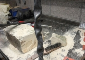 Blacksmithing course at Ironart (7)