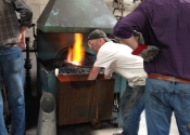 Blacksmithing workshop July 12 (4)
