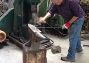 Blacksmithing workshop July 12 (7)