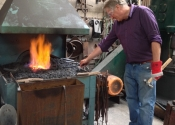 Blacksmithing workshop July 12 (9)