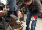 Bob Mytton Blacksmithing Course at Ironart (2)