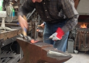 Bob Mytton Blacksmithing Course at Ironart (3)