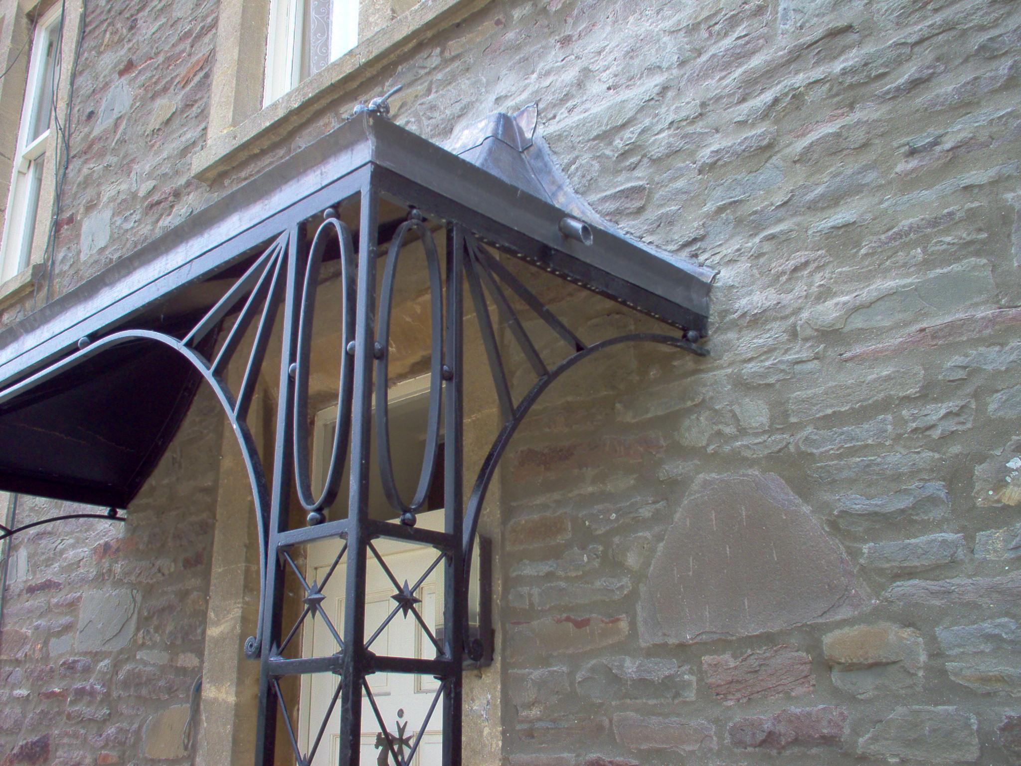 Porches Amp Canopies Ironart Of Bath