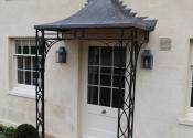 Porch leadwork, Kintbury