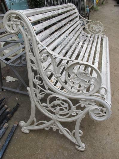 Decorative Cast Iron Bench Repair Ironart Of Bath