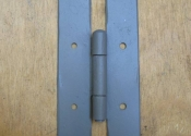 Bespoke Bespoke wrought iron hinges by Ironart of Bath