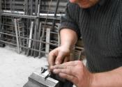 Making bespoke shutter bar catches at Ironart of Bath