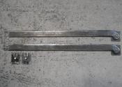 Bespoke shutter bars by Ironart of Bath