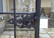 Casement window fasteners by Ironart of Bath - The Turnbuckle catch