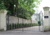 Traditionally made bespoke gates, Weston Park, Bath