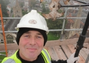 Martin Smith on the Evesham Abbey Tower