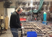 Furniture making at Ironart -  Dean Conway
