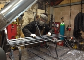 Furniture making at Ironart -  James Cuthbertson