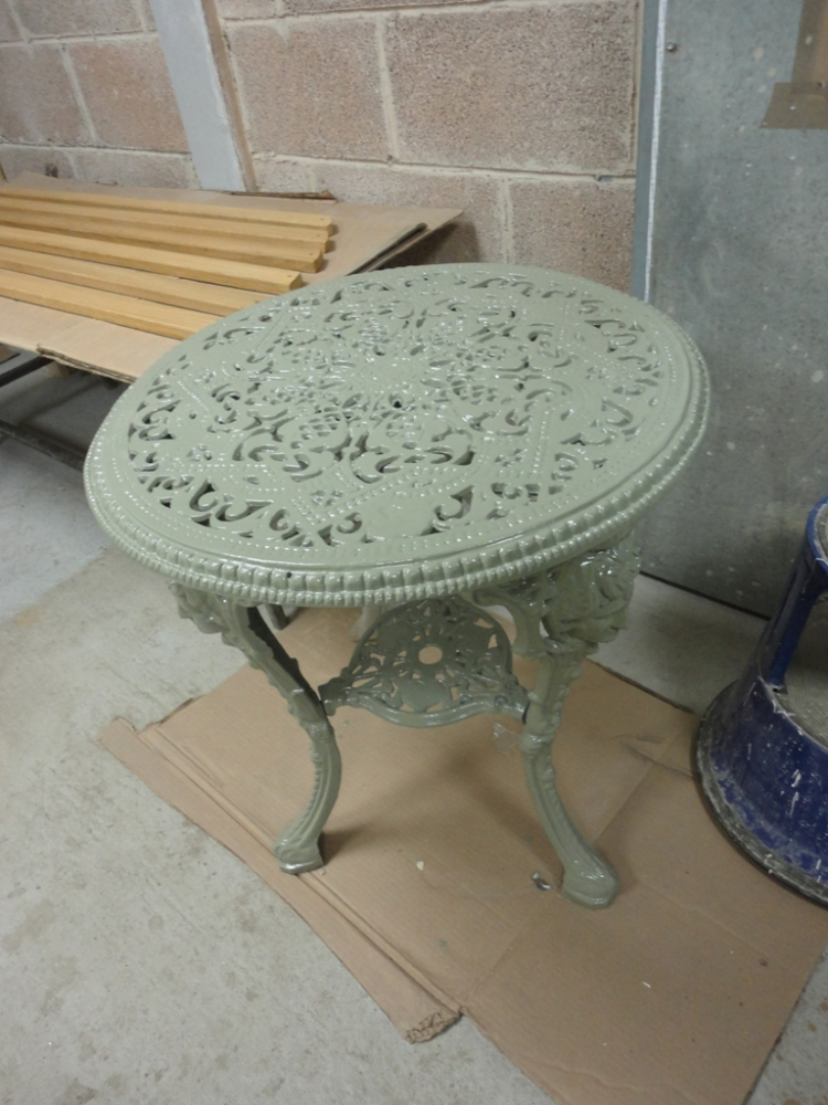 Cast Iron Patio Tables Cast Iron Patio Table Ebay Cast
