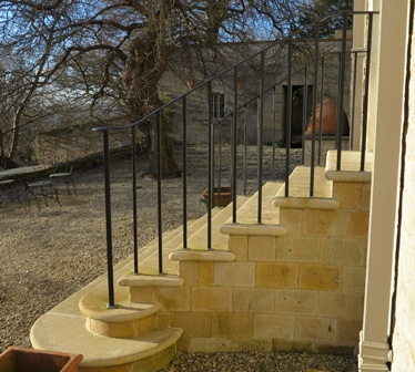 Curving Handrails Widcombe, Bath