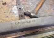 Coalbrookdale bench restoration (4)