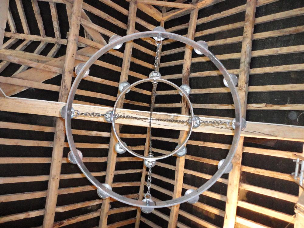 The circular barn chandeliers ironart of bath circular wrought iron chandeliers 1 mozeypictures Image collections