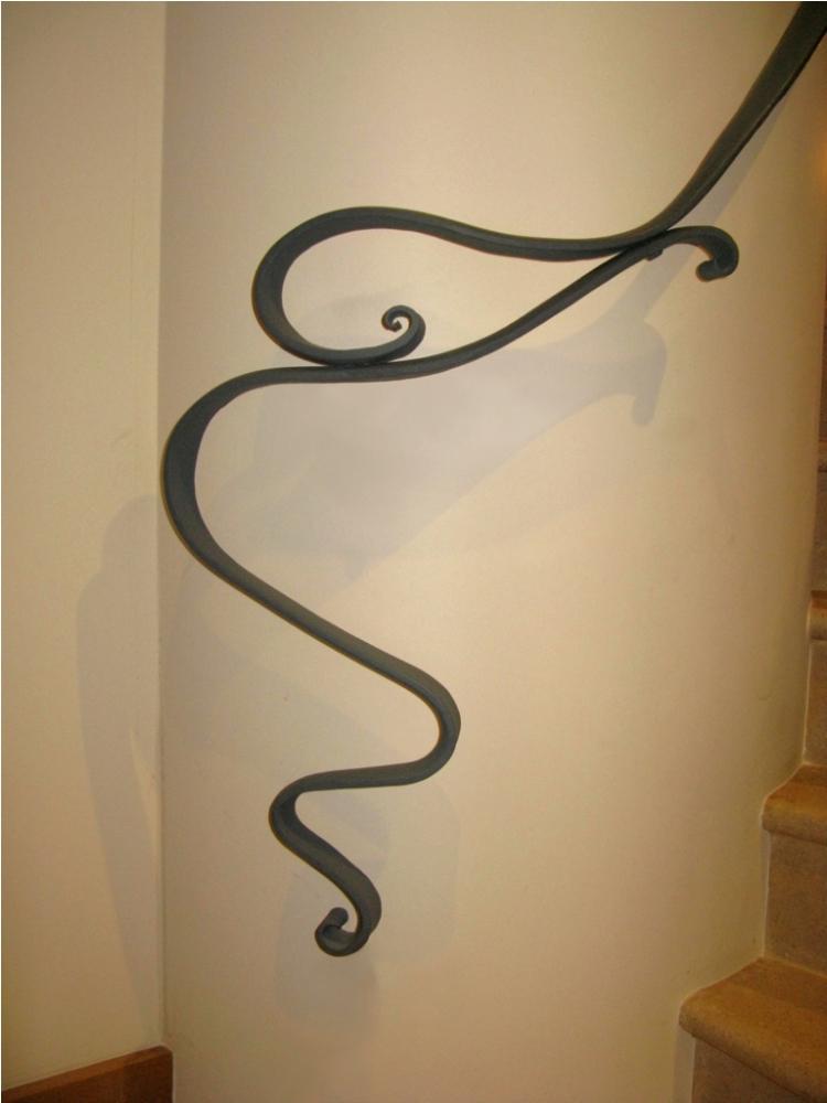 Contemporary balustrade, handrail & gate | Ironart of Bath