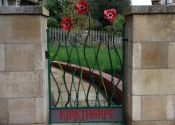 The Anenome Gate in Larkhall, Bath