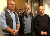 Ian Parmenter, Proctor Taylor and John Hutchinson