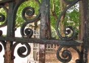 Gates prior to renovation