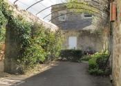 Garden Pergola tunnel arch in wrought iron, Coleford, Near Bath