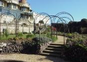 Russell Coates museum wrought iron pergola
