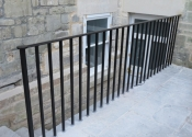 St John's Road Bathwick balustrade by Ironart of Bath
