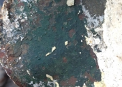 Original Coalbrookdale green paint