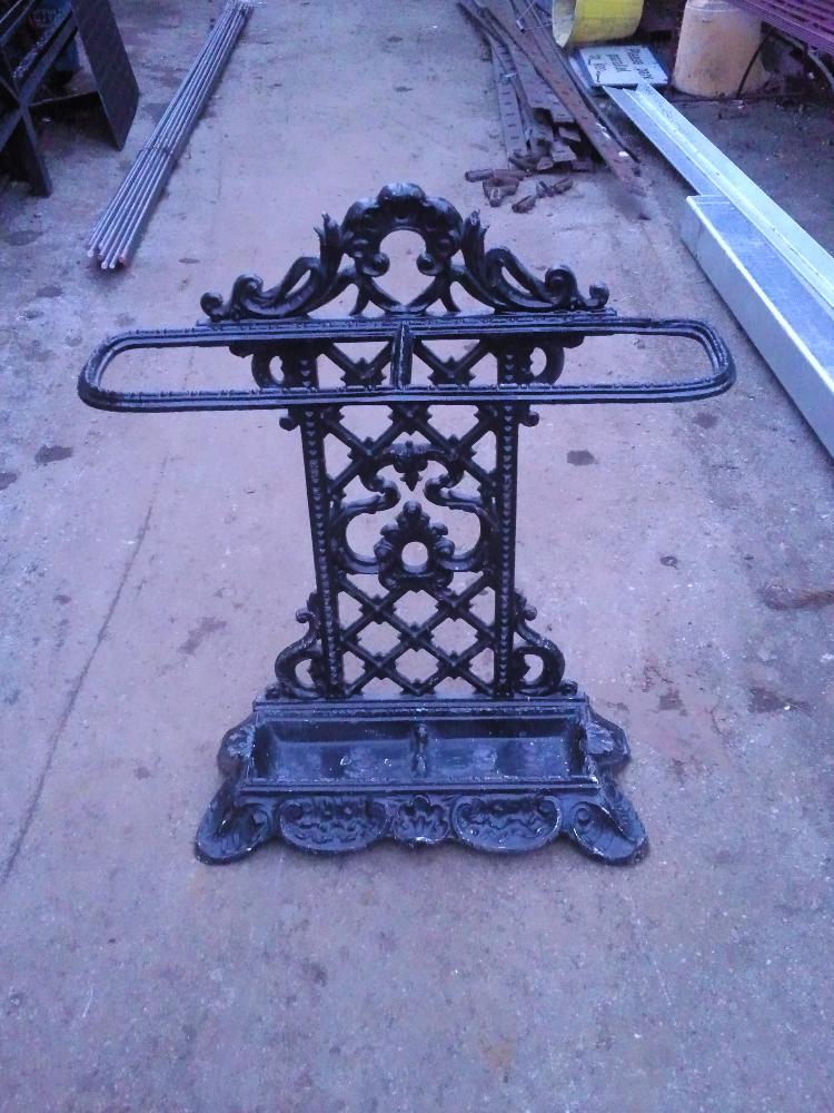 Cast Iron Umbrella Stand Repair Ironart Of Bath