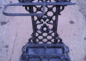 Repairs to an antique cast iron umbrella stand