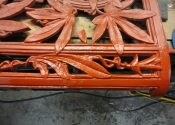 Recreating missing sections of the Coalbrookedale Passion Flower Bench