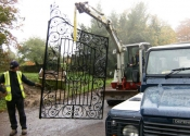 Wincanton gate restoration
