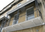 Balcony restoration project, Raby Place in Bath