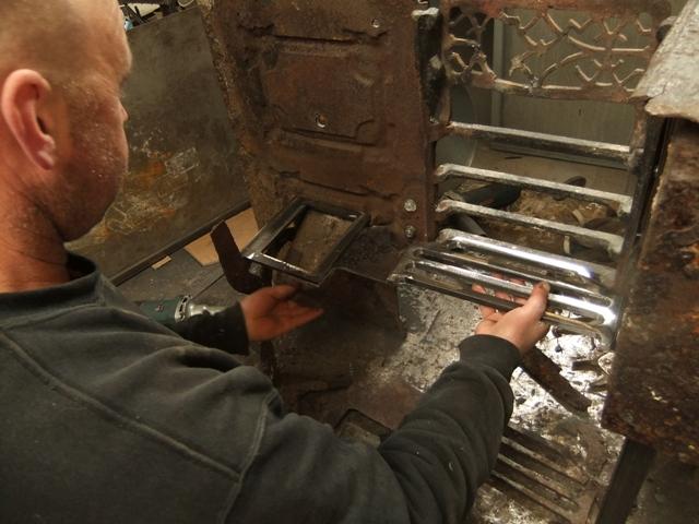 Repairs To Cast Iron Range Ironart Of Bath