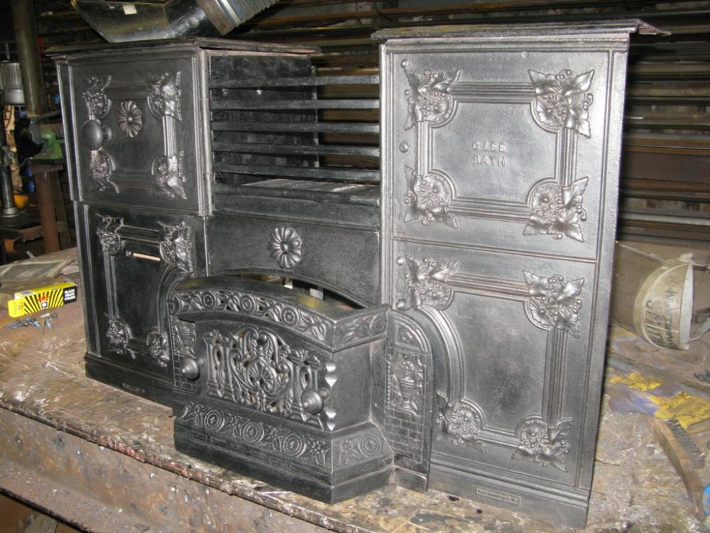 Cast Iron Range Restoration Upper Swainswick Ironart
